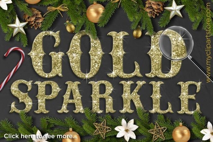 CM ALPHA Gold Sparkle