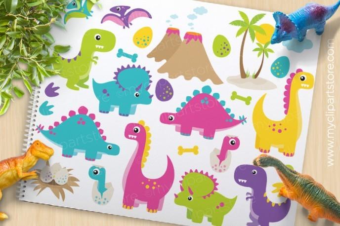 Preview Dino Fun Girl
